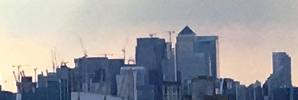Canary Wharf and O2 image